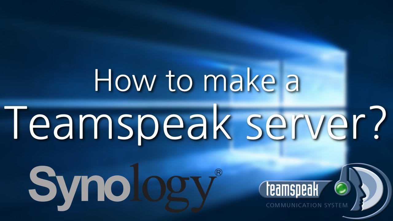 How To Make A Teamspeak Server On A Synology Nas - Minecraft server erstellen synology