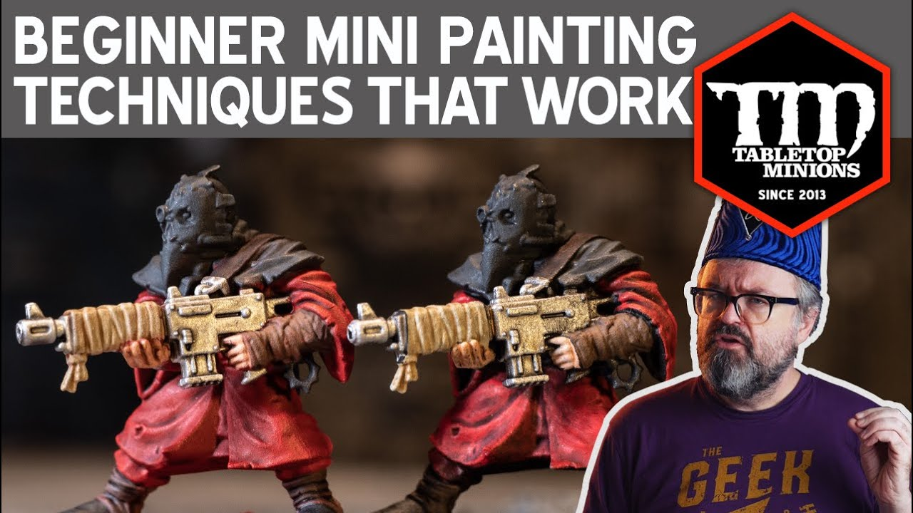 Beginner Miniature Painting Techniques that Work