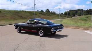 1965 Ford Mustang Fastback A Code Black