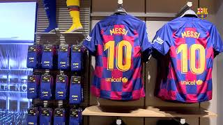 The catalan club announce a new store close to canaletes fountain on city's most iconic street...