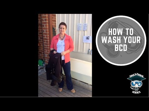 AOS Edu #8 - How to wash your BCD
