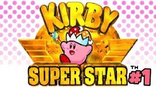 ADORO ESSE JOGO!   Kirby Super Star #1