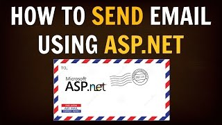 how to send email in net and asp net