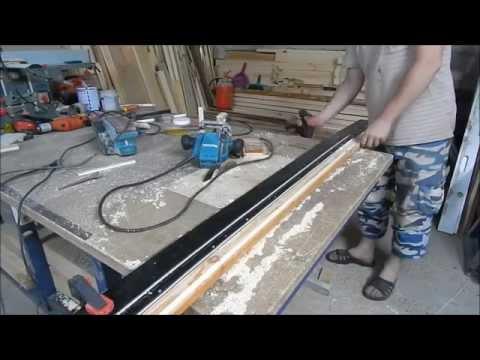 Самодельная направляющая шина для ручной циркулярной пилы и фрезера
