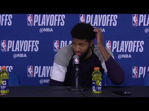 Paul George Postgame Interview | Jazz vs Thunder - Game 5 | April 25, 2018 | 2018 NBA Playoffs