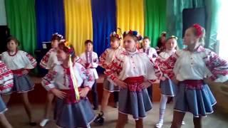 Український народний танець ''Козачок'', виконують учні ЗОШ №3 М. Борислав