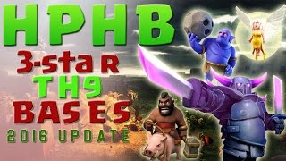 ✨ Townhall 9 - The HPHB Attack - Clash of Clans ✨