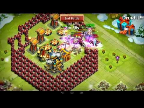 Castle Clash - Vlad & New TH 20 Setup