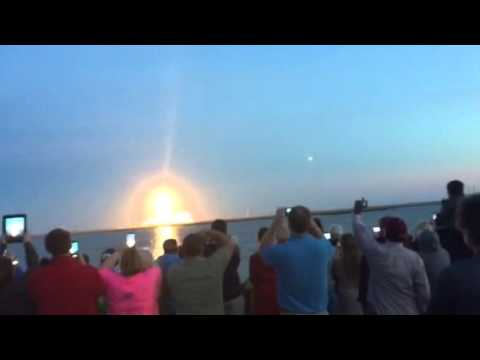 Wallops Island launch disaster 10/28/2014 - Very Intense