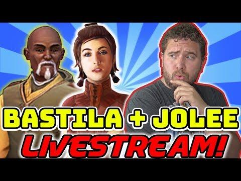 Bastila Shan + Jolee Bindo Livestream! Let
