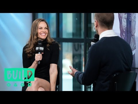 "Hilary Swank Talks About ""Mission Statement"""