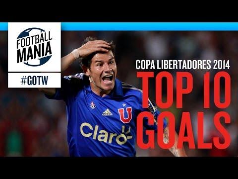 Top 10 Goals - Copa Libertadores 2014