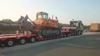 Gambar cover 15.7.2019 compilation of photos and videos - heavy transport - nadměrný náklad - Schwertransport