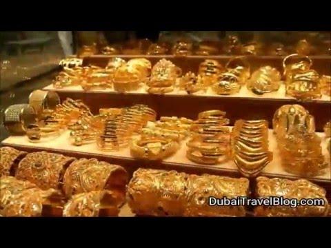 Exploring the Gold Market in Deira - Old Dubai