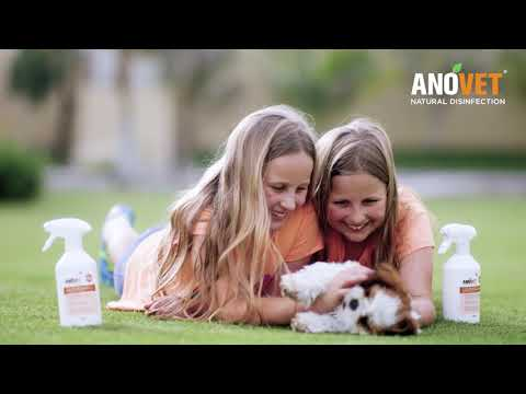 ANOVET® Natural Disinfection - All-In-One Natural Solution For All Pets