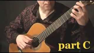 Урок на гитаре Потерянный рай (Валерий Литвинов - гитара)