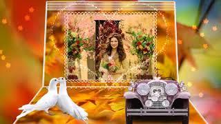 «Осенний свадебный вальс»   шаблоны слайд шоу online video cutter com