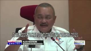 Haze-Causing Peat Fires a Major Headache for South Sumatra