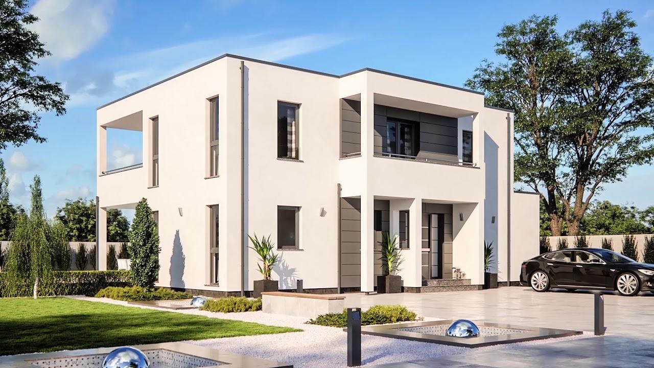 Wundervoll Haus Mit Flachdach Das Beste Von Flachdach- & Pultdachhäuser - Rensch- Trendline R