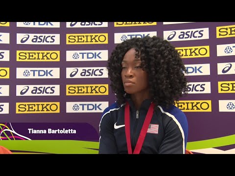 Tianna Bartoletta on making the right decisions