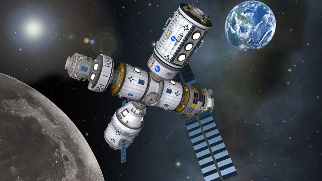 Deep Space Gateway >> Ksp Building The Deep Space Gateway Youtube