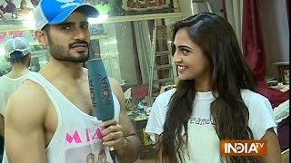 Karan Tacker and Krystle Rehearse for Their Upcoming Performance - India TV