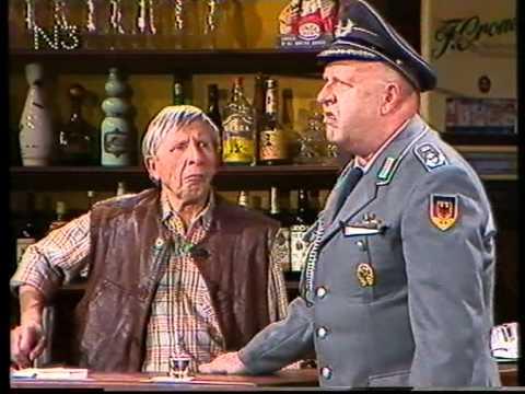 Gert Haucke als Oberst - Scheibnerweise