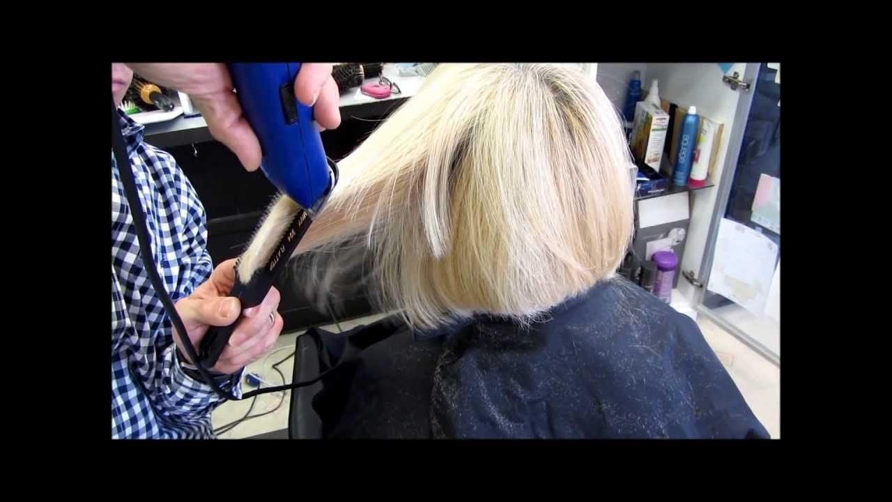 Hair Style You Tube Video: Bobbie's Clipper Buzz Cut Bangs & Layers Haircut Graduated