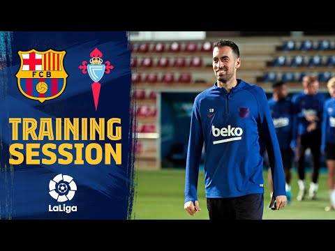 Final session before LaLiga match against Celta