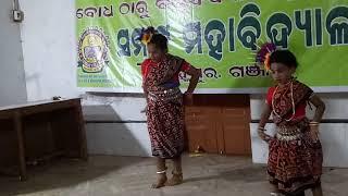 Sambalpuri dance(  eye Duita chaka )by Sriya&sruti