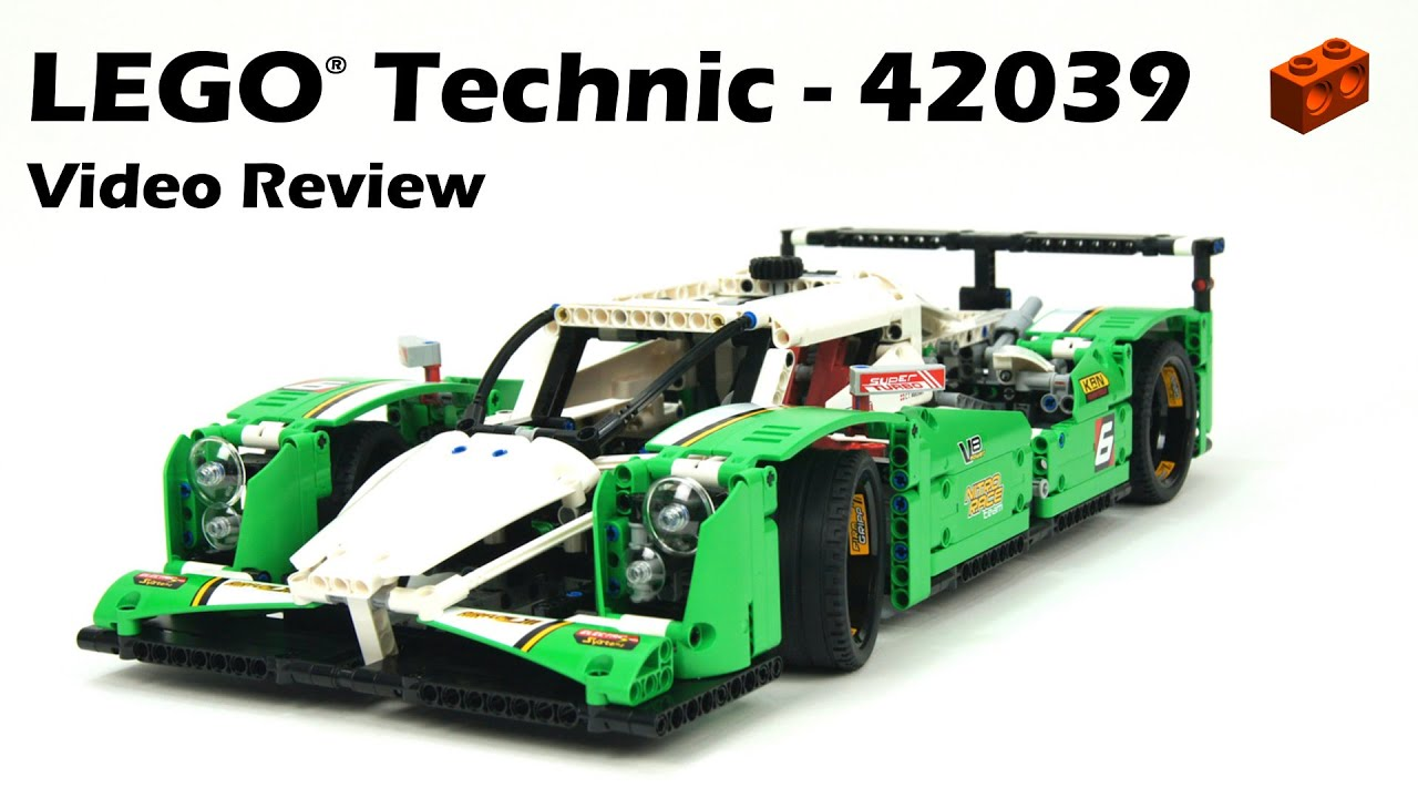 lego technic 42039 24 hours race car review youtube. Black Bedroom Furniture Sets. Home Design Ideas