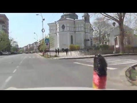 Tulcea Donau Donaudelta E87 Romania Rumänien 7.4.2016