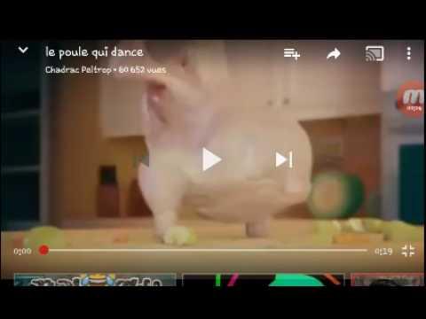 Le poulet qui danse