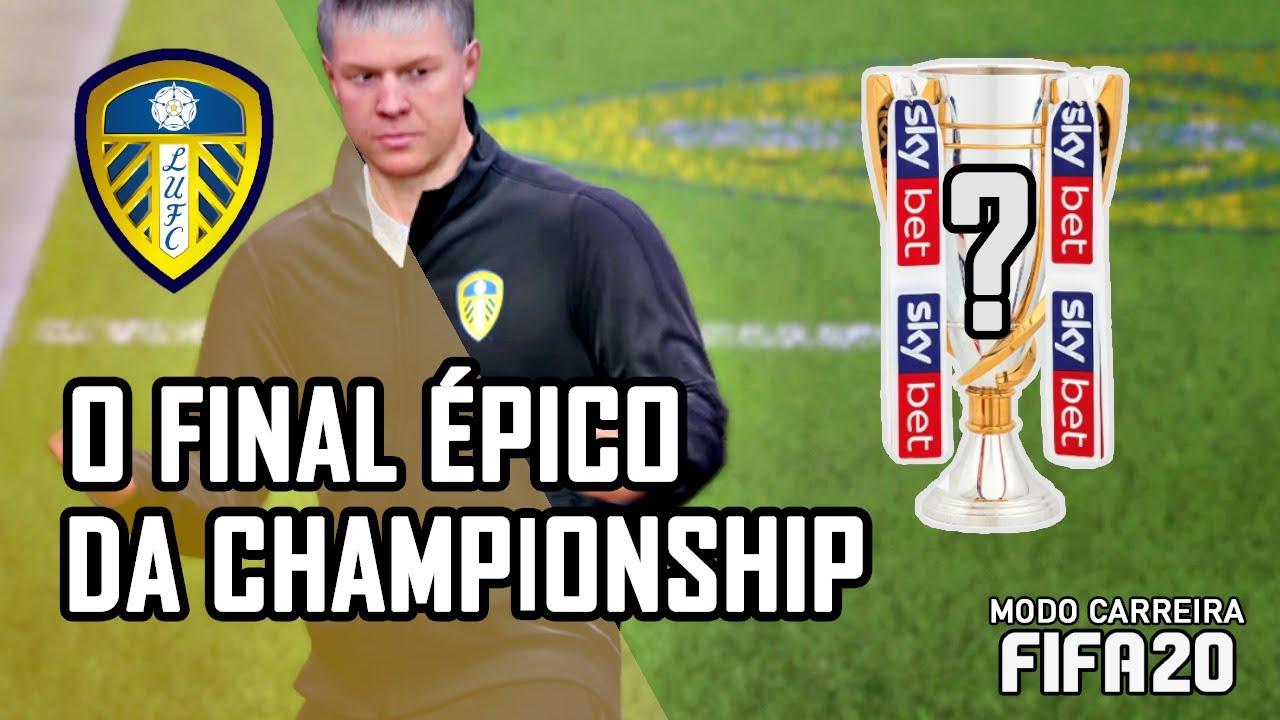 O FINAL ÉPICO DA CHAMPIONSHIP | Modo Carreira Realista FIFA 20 | T1 Ep28