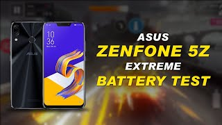 ASUS ZENFONE 5Z extreme Battery Test | Battery Modes| Battery Usage