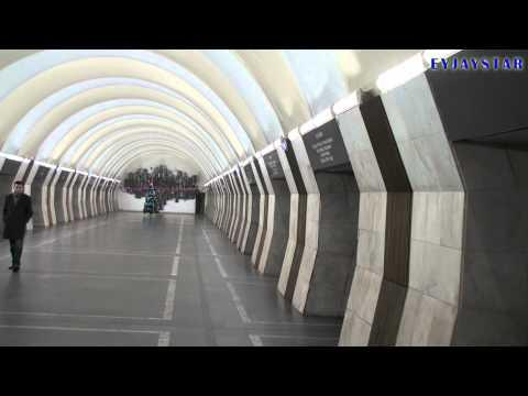 Yerevan Metro. Метрополитен Еревана. (HD)