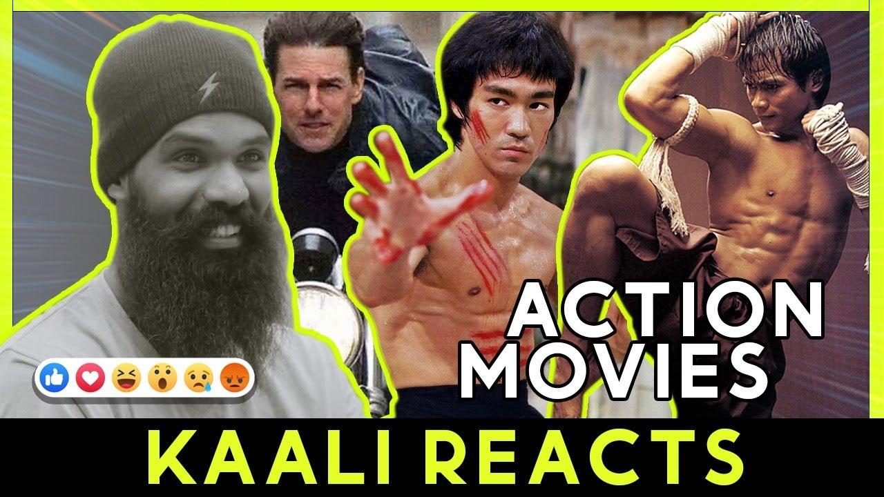 KAALI React to ACTION Movies..! (ක්රියාදාම චිත්රපටි)