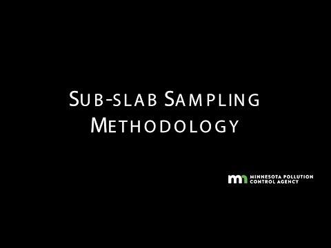 MPCA Sub-slab Sampling Methodology