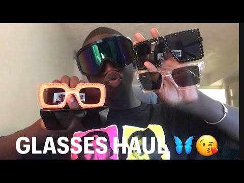 Glasses haul shop with : Drama_collections 🥰