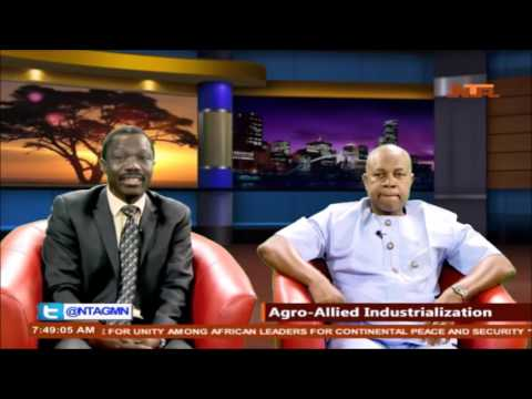 AEC 2016 at Good Morning Nigeria agro-allied industrialisation
