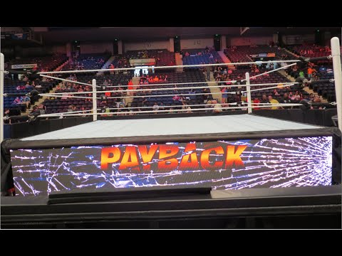 WWE Payback 2015 ROW 3 (Baltimore, MD) - Brandon Hodge Vlog #6