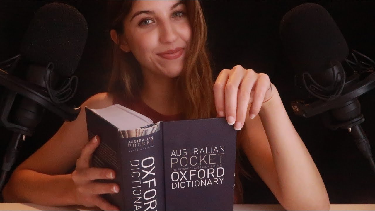 ASMR (????Sounds) Whispered Dictionary Challenge ~