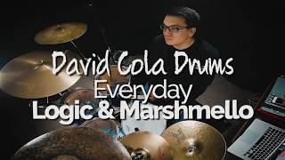 Everyday - Logic & Marshmello Drum Cover