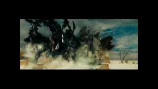 Transformers ROTF Jetfire vs Mixmaster Scorponok