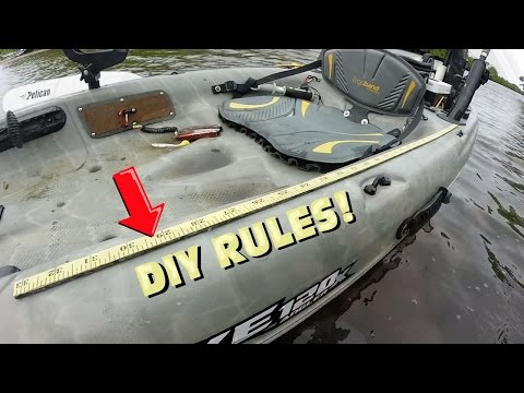 How To Add a Measuring Device to your Fishing Kayak