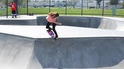 Blog Cam #52 - Skateboard Barbie and Teresa at Chino Skatepark