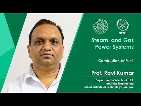 Lecture 14: Combustion of Fuel