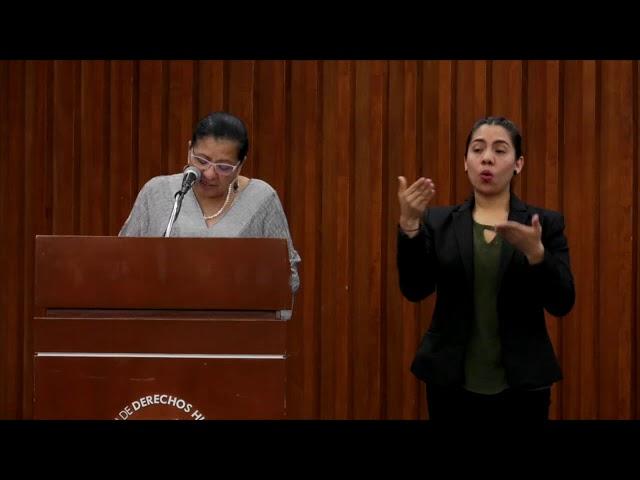 Discurso de Nashieli Ramírez en la presentación de Recomendaciones 06, 07, 08 y 09/2019