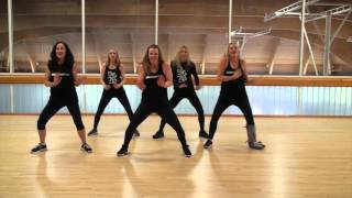 """Now That We Found Love"" by Heavy D & The Boyz - dance fitness choreo by Gino Johnson and Alana"