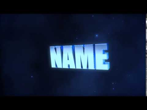 FREE Blue Cinema 4d and After Intro Template - by QuentyArtz #1 [MY BEST]